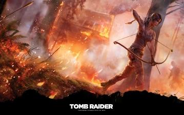Med sin pilbåge kämpar Lara Croft för sin överlevnad. Hon är inte längre den bimbo från det förflutna. Hon är en stark kämpe som man bryr sig om.
