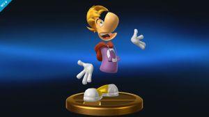 Bilden av Rayman som trofé är minst sagt förvirrande och ett mysterium.